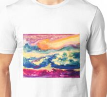 Starry Night Ocean and Water Cavern!  Unisex T-Shirt