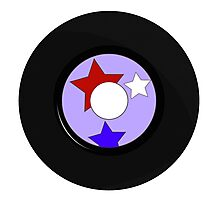 Record Star Photographic Print