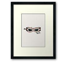 Rey Bans Framed Print