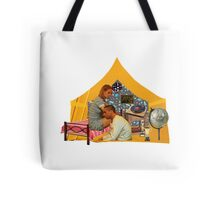 The Royal Tenenbaums Yellow Tent Tote Bag