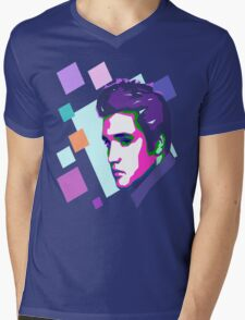 Elvis Presley Mens V-Neck T-Shirt
