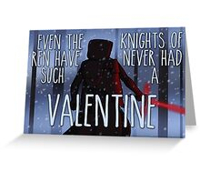 Never Had Such a Valentine Greeting Card