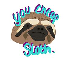 Cheap Sloth Photographic Print