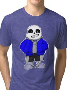 UNDERTALE- Sans the Skeleton Tri-blend T-Shirt