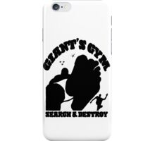 Search & Destroy (Black) iPhone Case/Skin