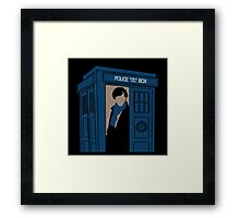 Supernatural, Doctor Who and Sherlock  Framed Print