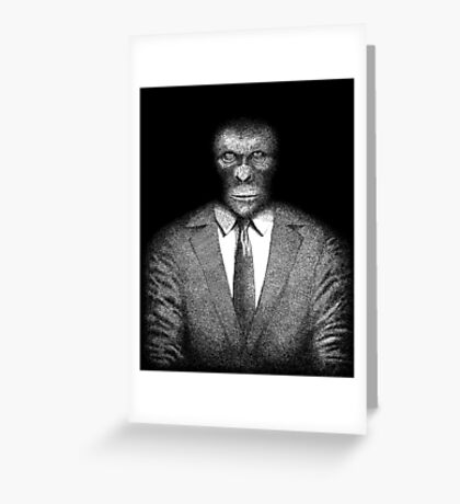 The Planet of the Apes Greeting Card