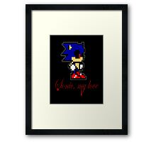 Sonic, My Love Framed Print