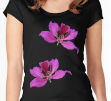 Bauhinia Women's Fitted Scoop T-Shirt