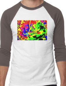 Psychodelic Plant Men's Baseball ¾ T-Shirt