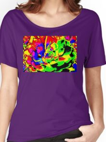 Psychodelic Plant Women's Relaxed Fit T-Shirt