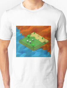 Isometric Desert Farm T-Shirt