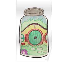 Hobbit in a Jar Poster