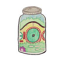Hobbit in a Jar Photographic Print