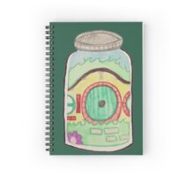 Hobbit in a Jar Spiral Notebook