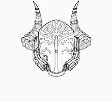 Iron Champion's Helm (Linework Only) Unisex T-Shirt