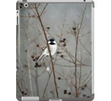 Chilly Chick-a-Dee iPad Case/Skin