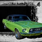 Ford Mustang by Keith Hawley
