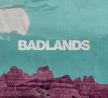 Badlands 1 Sticker