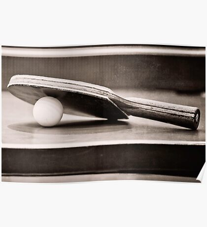 Table Tennis Champ Poster