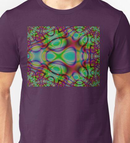 Colourful Diffraction Design Unisex T-Shirt