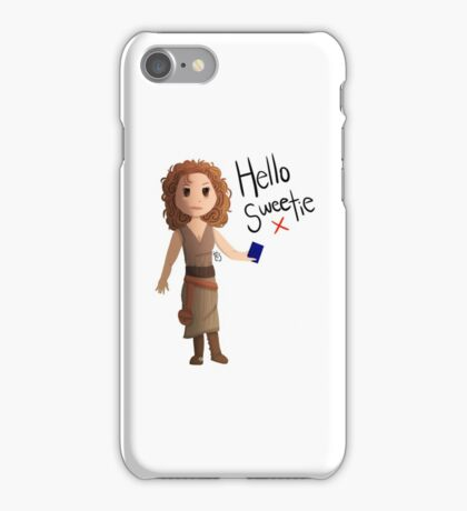Hello Sweetie River Song iPhone Case/Skin