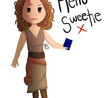 Hello Sweetie River Song by TesArtist