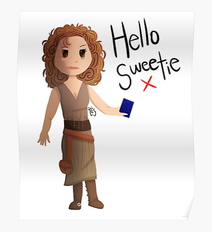 Hello Sweetie River Song Poster