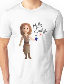 Hello Sweetie River Song Unisex T-Shirt