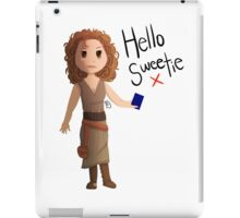Hello Sweetie River Song iPad Case/Skin
