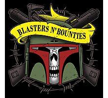 Blasters 'n bounties Photographic Print