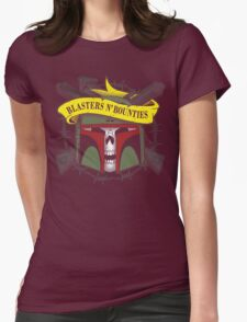 Blasters 'n bounties Womens Fitted T-Shirt