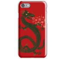 Dragon, Flower Breathing iPhone Case/Skin