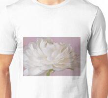 White Ranunculus Macro  Unisex T-Shirt