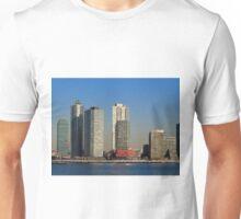 Pepsi Neon Sign in Queens Unisex T-Shirt