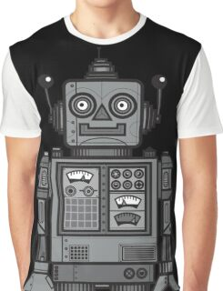 Vintage Robot Graphic T-Shirt