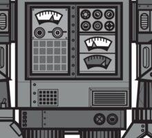Vintage Robot Sticker