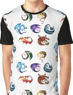 Dragon Classes - Galaxy Graphic T-Shirt