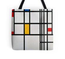 Piet Mondrian, Dutch,  Title Composition in R Tote Bag