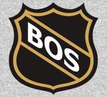 Boston Old School Crest Kids Tee