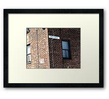 New York City - 105th Street Framed Print