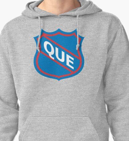 Quebec Old School Crest Pullover Hoodie