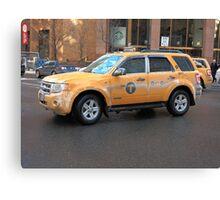 New York City Taxi Canvas Print