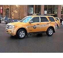 New York City Taxi Photographic Print