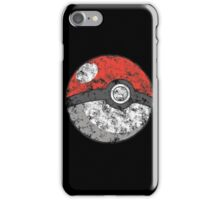 Smoke pokeball iPhone Case/Skin
