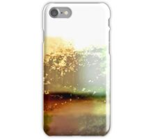 Abstract Botanical Multi-colored Landscape  iPhone Case/Skin