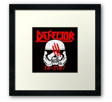 Defector Framed Print