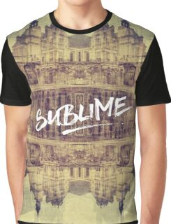 Sublime France Fontainebleau Chateau French Architecture Graphic T-Shirt