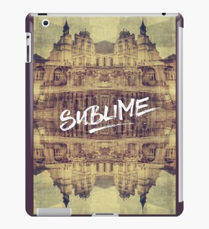 Sublime France Fontainebleau Chateau French Architecture iPad Case/Skin