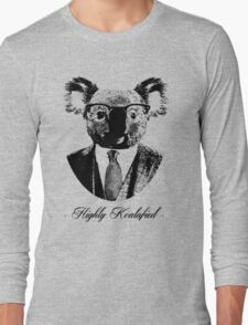 Highly Koalafied Long Sleeve T-Shirt